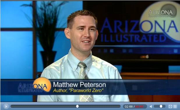 Arizona Illustrated interview with Matthew Peterson